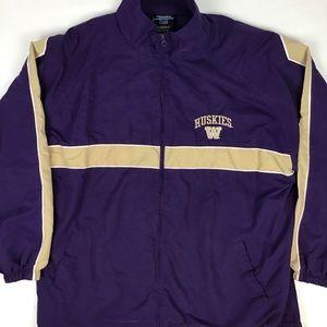 UW Husky zip up jacket